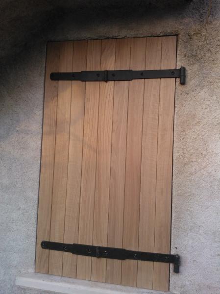 Genial Porte Et Volet En Chene Massif Renovation Du0027une Grange