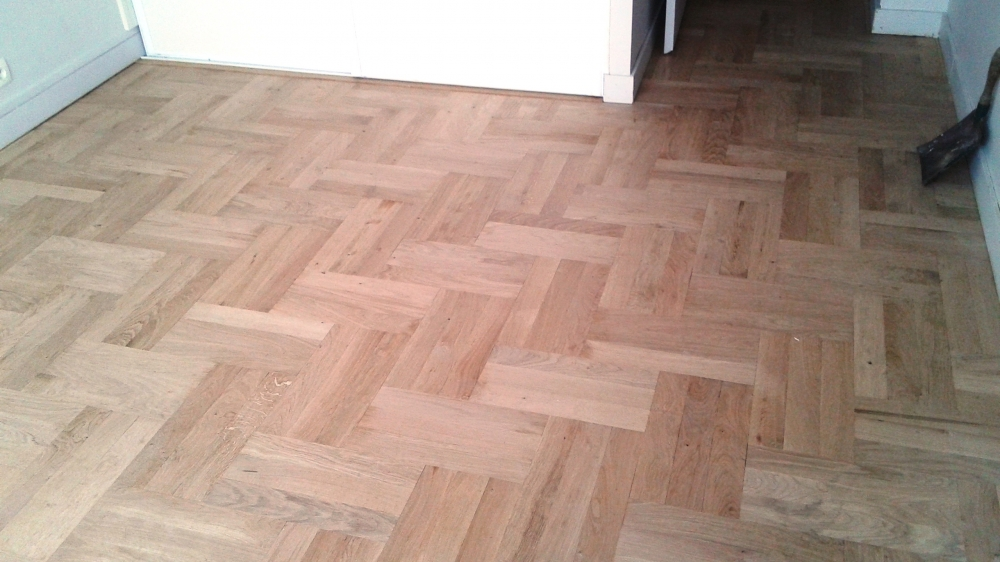 parquet traditionnel chene cloué